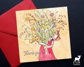 Thank You Card - Greeting Card - Thank You - Bible Card - Christian Card
