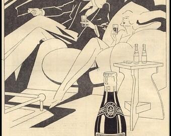 Vintage Ginger Ale Poster