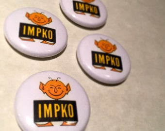 "The Impko 1"" Button"