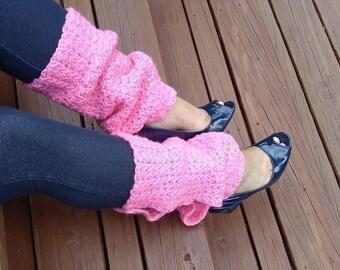 Crochet Leg Warmers / Crochet Leggings / Ankle Warmers / Boot Cuffs / Boot Socks / Crochet Boot Cuffs / Yoga Leg Warmers