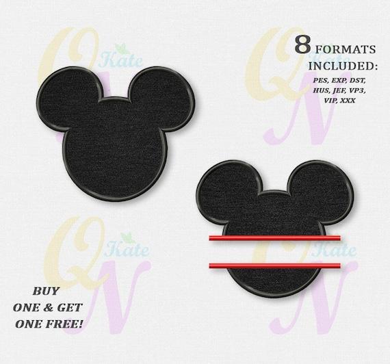Bogo gratuit ensemble broderie t te de mickey mouse - Telecharger film mickey mouse gratuit ...