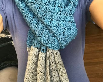 Handmade Shawl/scarf with quality yarn
