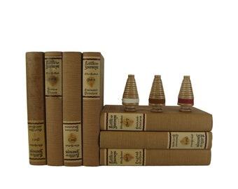 Classic Literature for Shelf Decor, Decorative Book Set for Book Home