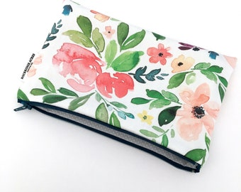 Pencil Case in 'WATERCOLOUR FLORAL'