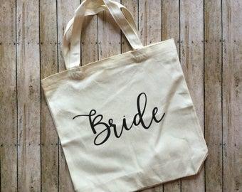 bridal totes, bride tote, bridesmaid tote, bridesmaid gift, monogrammed tote, personalized tote
