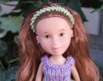 Rylie from Grapevine Girls  ( Bratz  makeunder repaint change ooak art dolls with handmade knit doll clothes) Hug a doll, Hug a tree!