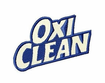 Oxi Clean patch for Costume