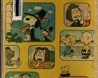 A Charlie Brown Thanksgiving + Charles M. Schulz + 1974 + Vintage Kids Book