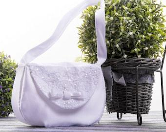 communion bag-holly communion bag-first communion bag-white girl bag