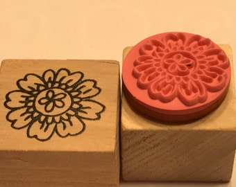 small flower rubber stamps, 20 mm (BB4/2)