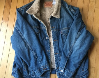 Levis Sherpa lined Denim Jacket