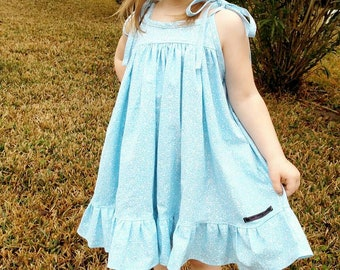 Girl's London Dress. Summer. Sun Dress