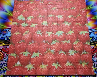 Psychedelic Blotter Art Print perforated sheet 225 hits Mad hatter Acid Free paper