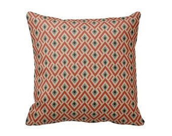 Coral Pillow Cover Coral Throw Pillow Covers Beige Pillows Brown Pillows Tribal Pillows Aztec Pillows Decorative Pillows for Couch Cushions