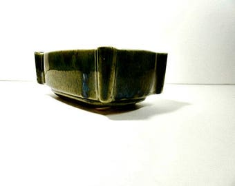 Mid Century UPCO Ungemach Pottery USA Weave Planter 200-6