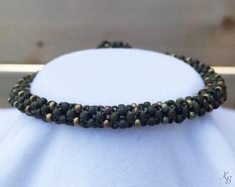 Army Green Rope Bracelet