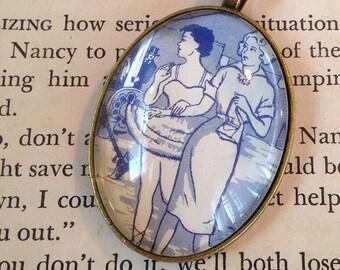 """Nancy Drew """"The Ringmaster's Secret"""" pendant"""