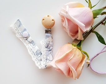 Dummy clip / Pacifier clip/ Dummy chain/ Personalized/ Christmas gifts for baby