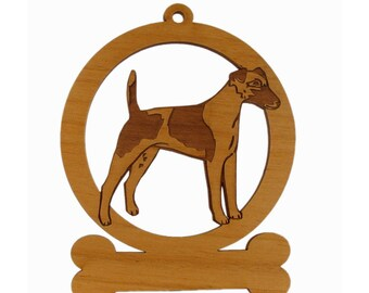 Smooth Fox Terrier Dog Ornament 083198 Personalized With Your Dog's Name