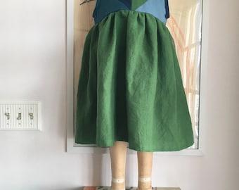 Ready to ship linen dress