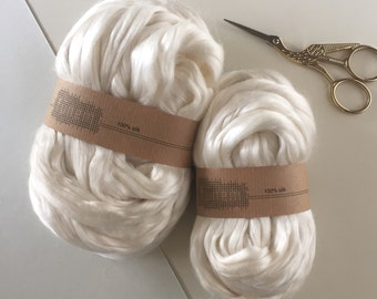 Mulberry Silk / Silk Fibers / Zijde lont / Moerbeizijde / Fibre / Fibers /