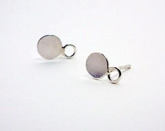 Sterling Silver Post Earrings, Silver Post Stud Earrings
