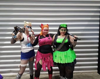 Post Apocalyptic Blossom Cosplay | Powerpuff Girls