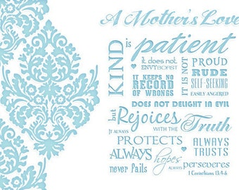 A Mother's Love Card- Digital Mother's Day Card