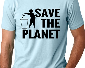 Save The Planet Atheist T-Shirt Funny Atheism Tee  gift for atheist agnostic atheist gift