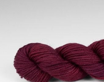 Mini skein, handpainted yarn, Merino and Nylon, Fingering/Sock, Splash, Flathead Cherry.