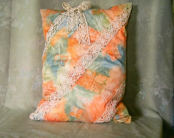 Mother's day: large satin cushion