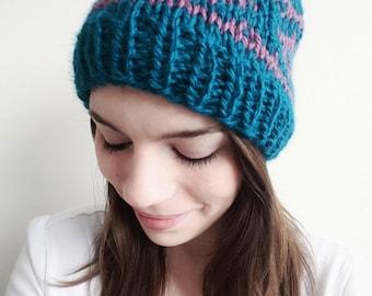 Knitting Pattern PDF - Paragon Beanie