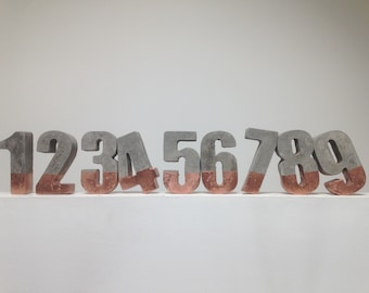Large concrete cement numbers