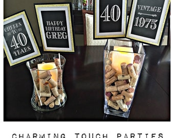 Adult birthday party decorations Etsy