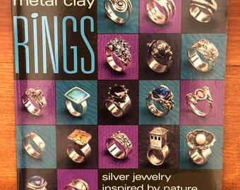 Book Metal Clay Rings by Irina Miech