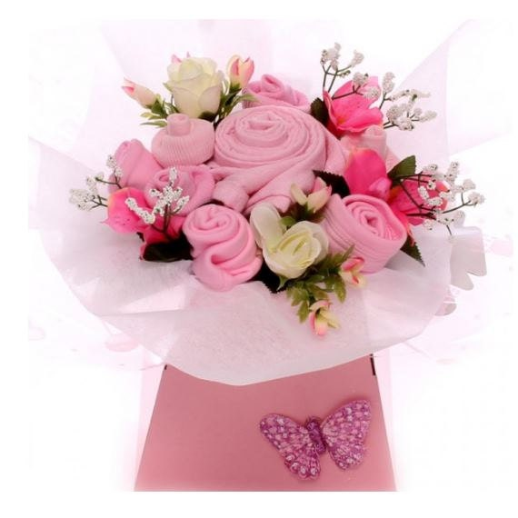 Beautiful baby bouquet girl budget baby gift cute baby girl like this item negle Gallery