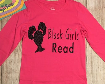 Black Girls Read T-Shirt (Youth Size)