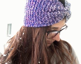 Knit Bow Headband