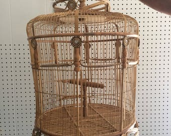 Beautiful Wooden Birdcage