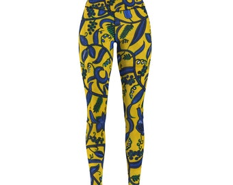 African print skinny pants | Women Ankara Leggings Ankara Pants Ankara Styles Ankara Trousers African Fashion Pants