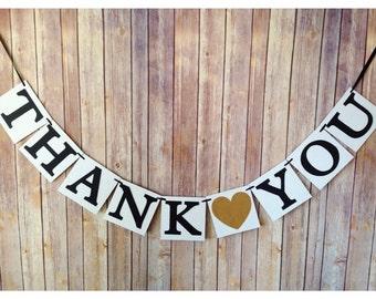 thank you banner, wedding thank you banner, custom wedding banners, wedding sign