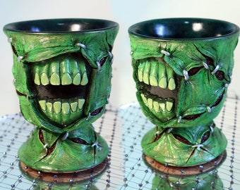 FRANKENSTEIN'S MONSTER CUP by Goldiestarling