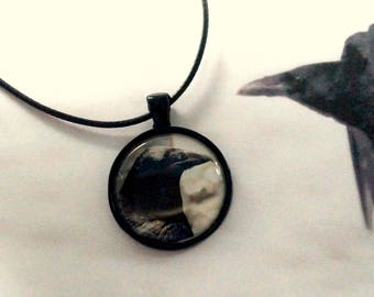 Raven black Raven Necklace