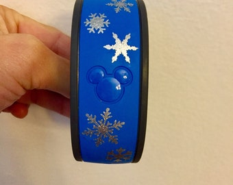Snowflake Magic Band decals