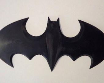 Batman logo printed in 3D