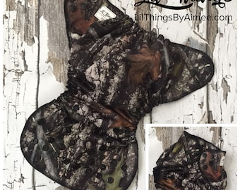 NEW Custom One Size Fits Most OS Swim Diaper Cover Boys Girls Camo