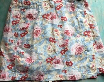 Vintage Liz Claiborne Floral Wrap Skort P 4