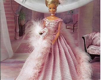 Socialite Ballgown  Fashion Doll  Crochet Pattern  Annies Attic 870617