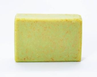 Eucalyptus Bar, Fading Frontier, Shipwreck Apiaries, Handmade Soap, Artisan Soap, Cold Process Soap, Natural Beeswax Soap