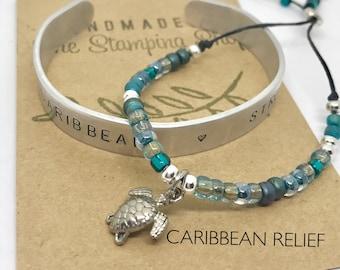 Caribbean Strong - Hurricane Relief  bracelet